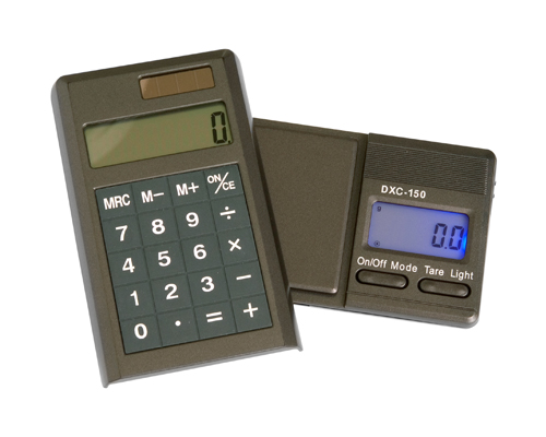 Digital scale DK with calculator 350x0.1g