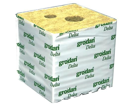 Grodan cube Delta HUGO Big Block 15x15x15cm - Individually or Box