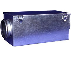 Filter box for supply air pollensafe EU-5 RLV 100-400mm incl. filter