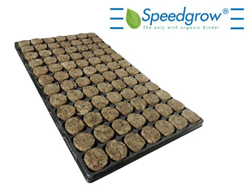Speedgrow Green Tray 84 cubes 38x38x40mm