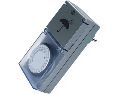 Timer splashproof, analog