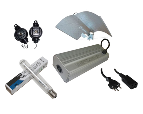 Kit des lampes Deluxe 400W