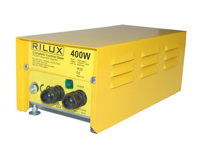 LuxGear-Rilux 400W HPS/MH with Philips Comp. and overheat protection