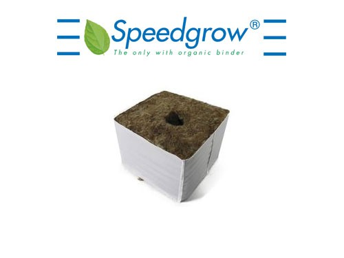Speedgrow Green cube 75x75x65mm with 28mm Loch